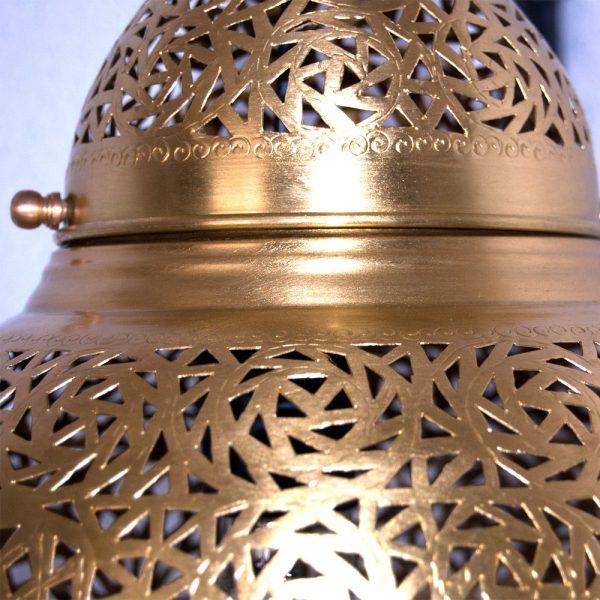 DELUXE Openwork Brass Ceiling Lamp - Dubai Model - 80 cm