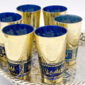 Set 6 Arab Tea Glasses - AHLAN Model