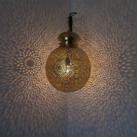 Brass Ceiling Lamp Draft DELUXE - Qatar Model - 35 cm