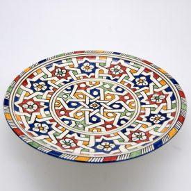 Fruit Plate 27 cm - Alhambra Design - Fez Model