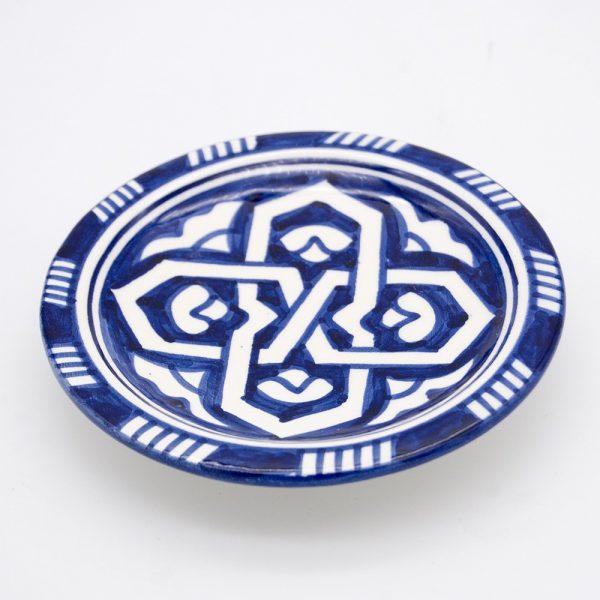 Mini Fez Plate - Nuts Olives - Saitun Model