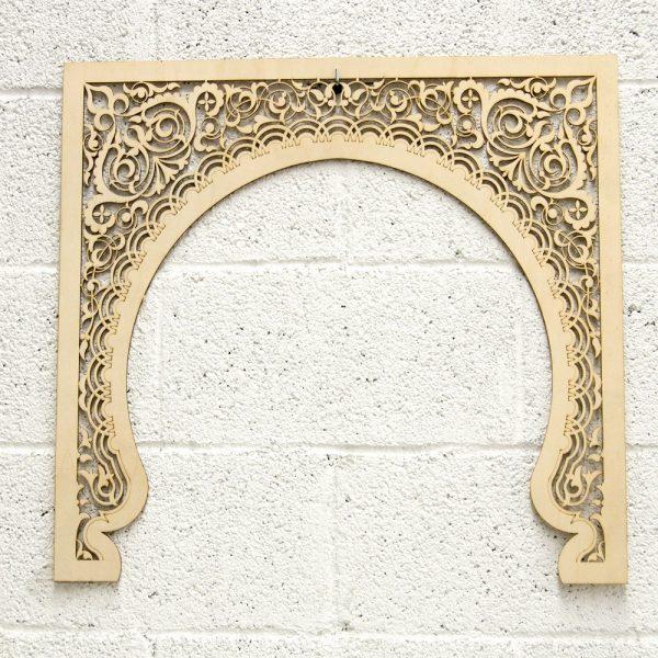 Wooden Lattice Mekness Door model - 60 cm