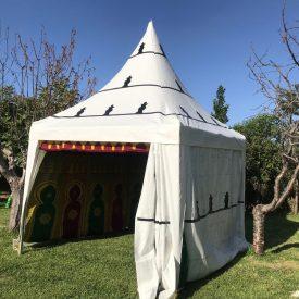 Arab Jaima Tent 3 x 3 m - PVC Structure - Arab Decorations Parties