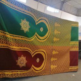 Arab Decorative Fabric - 210 cm - Decoration Tetería Jaima Restaurante