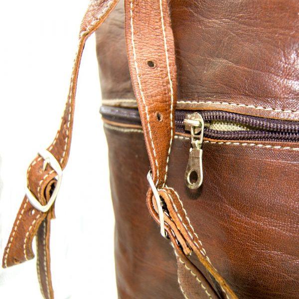 Giant Leather Backpack - Excursions - 45 cm - Kabir Model