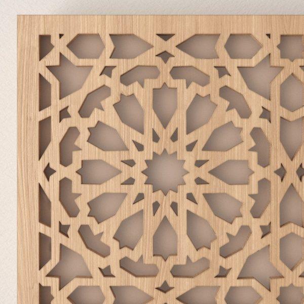 Wall Lamp or Ceiling - Openwork Arabic Lattice - Alhambra Model