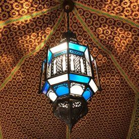 Arabic Ceiling Lantern - Samai Model - 60 cm - Installation and Ceiling Rose