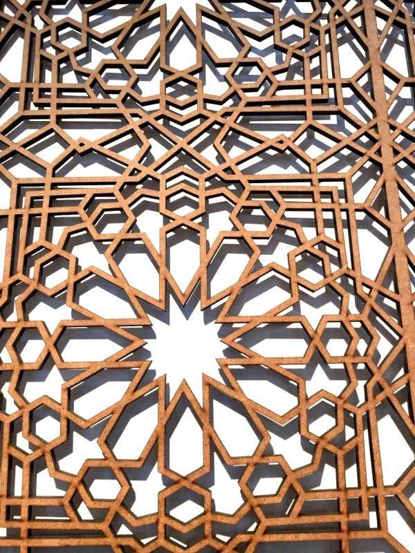 Arabic Lattice Window - Bab Alhambra Model - 100 x 60 cm