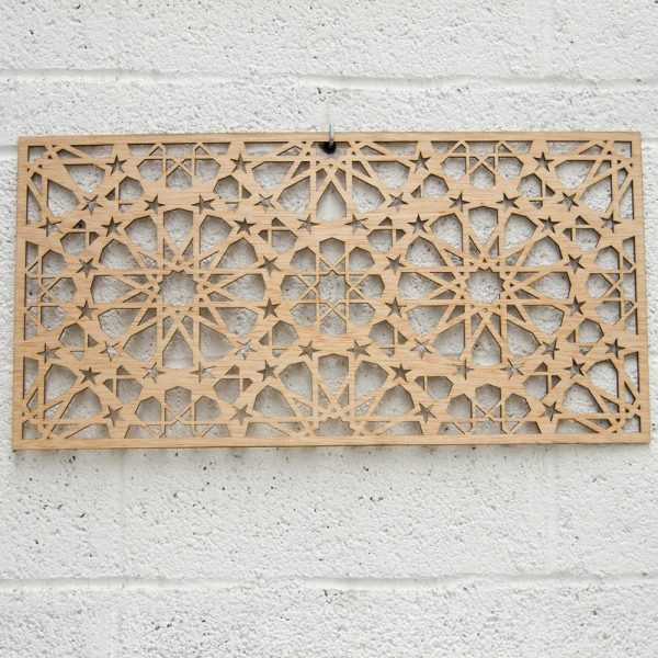 Openwork or Engraved Lattices Laser Cut - Wood Leather Plastic