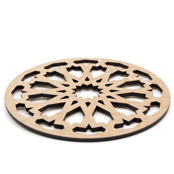 Trivet - Plate holder - DM - Laser Cut - Daura Zalaza Design