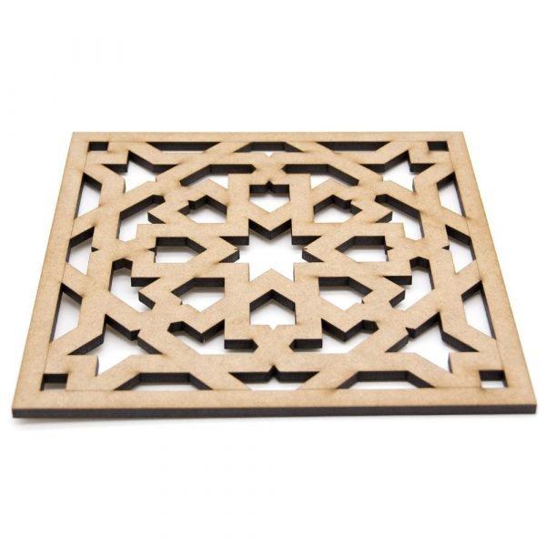 Trivet - Plate holder - DM - Laser Cut - Generalife Design