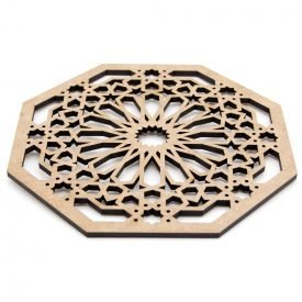 Placemat, coasters, decorative for your special events or to decorate your house in the Arabic, Andalusian, Moroccan style.