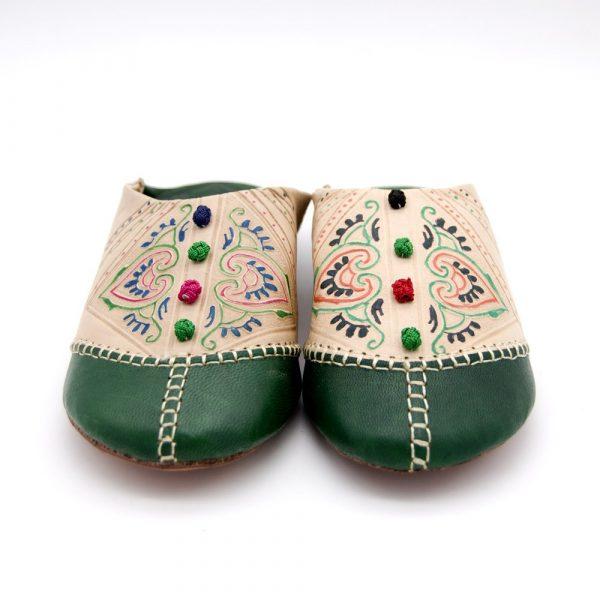 Moroccan Slipper Woman - Authentic Leather - Azrar Model