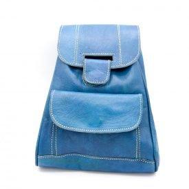 100% Leather Backpack - Large- Leather Goods - Model Tilka