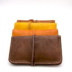 Leather Cigarette Case for Rolling Tobacco - Model Almas