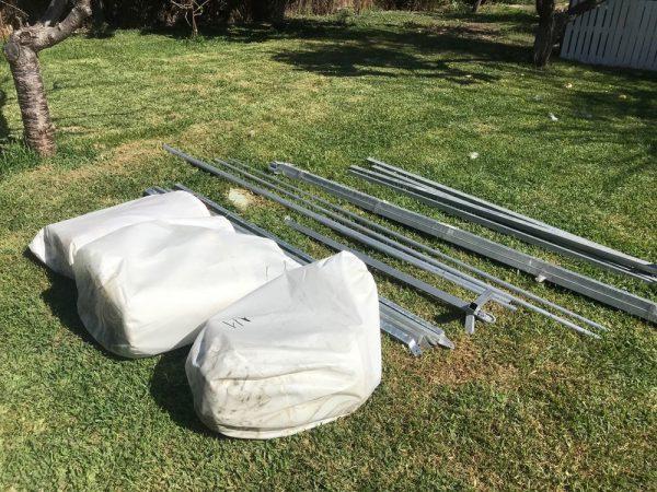 Jaima Arabe 4x2 m - PVC - Ideal Medieval Fairs Markets