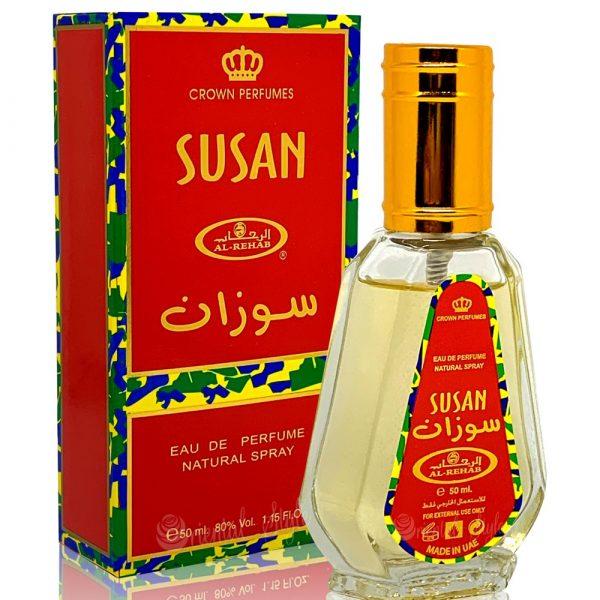 Eau de Parfum Arabic Susan Spray 50ml - Al Rehab