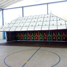 Jaima Arabe 10 x 5 m - PVC - Ideal Medieval Fairs Markets