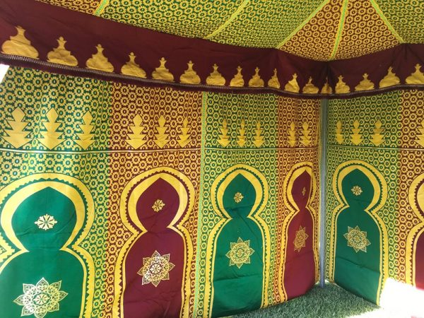 Jaima Arabe 14 x 7 m - PVC - Ideal Medieval Fairs Markets
