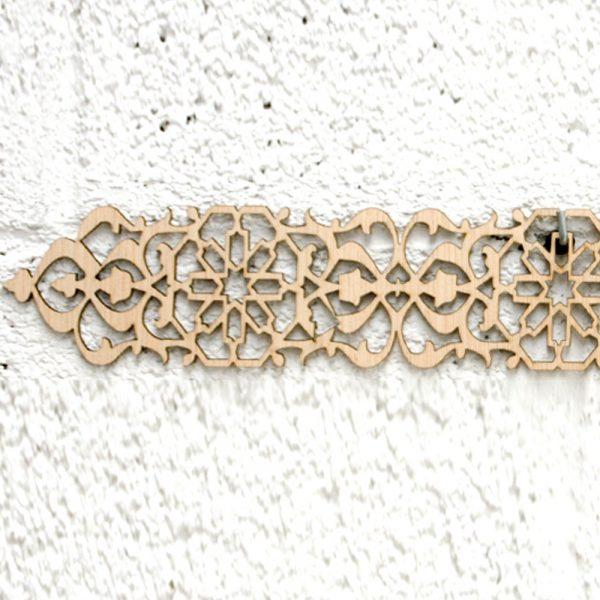 Arabic Wood Lattice 6 x 50cm - Geometric Designs - Laser Cut - Birrambla Model
