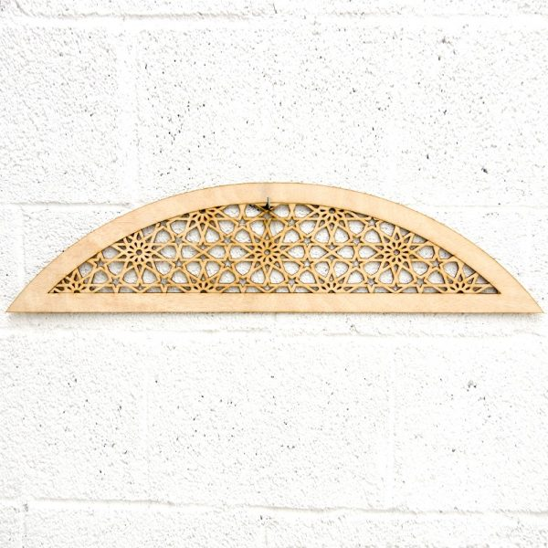 Arabic Wood Lattice - Dome - Mekness Model