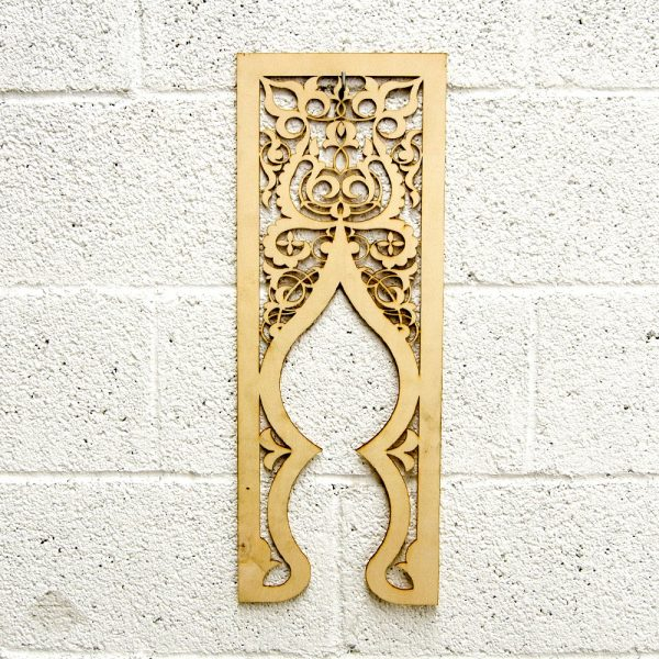 Arabic Wood Lattice - 59 x 22 - Bab Elvira Model