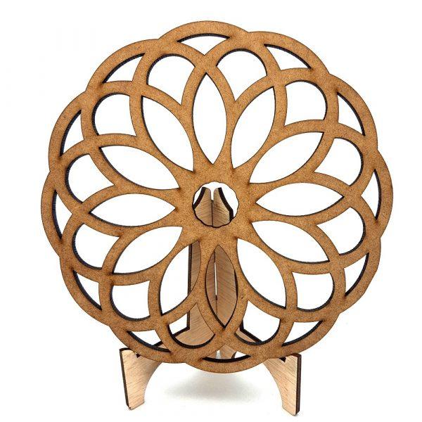 Arabic lattice -Salvamantel - Plate holder -Zahra design