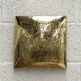 Arabic Wall Sconce - Golden Brass - Dhahabi Model