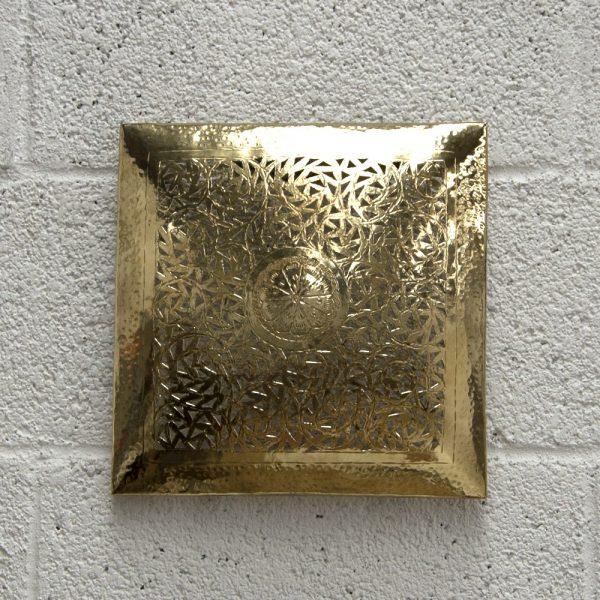 Arabic Ceiling or Wall Ceiling - Golden Brass - Albabunaj Model