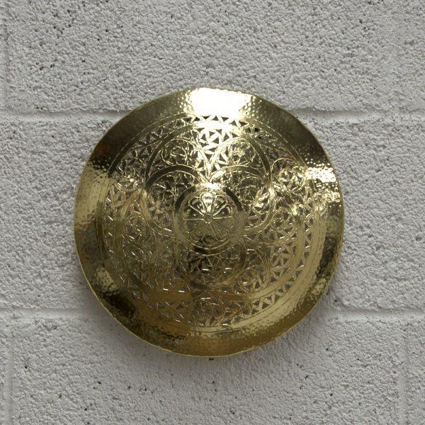 Arabic Ceiling or Wall Ceiling - Nickel Plated Brass - Alsuquf Model