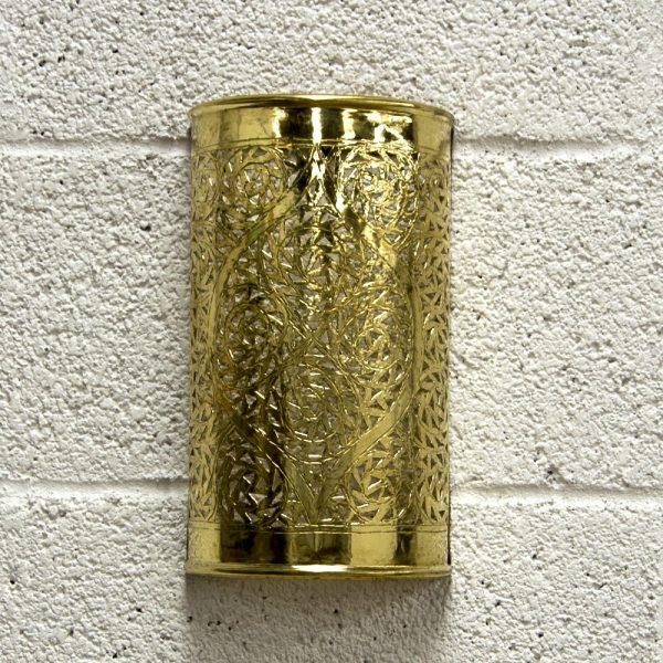 Apply Arabic Cylinder - Golden Brass - Qatara Model