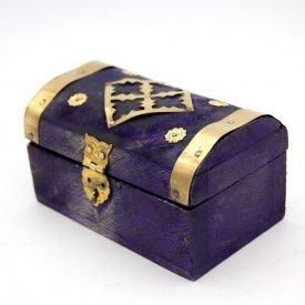 Pack 6 Mini chests or trunks - Purple - SUNDUQ Model
