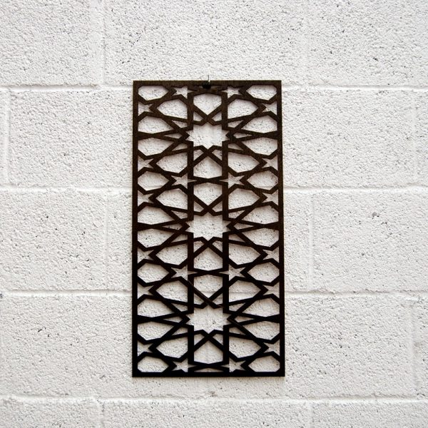 Wooden Lattice - Nuyum Model - 60 x 30 cm