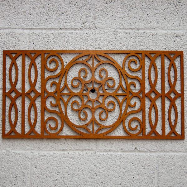 Wooden Lattice - Mandala Design - 60 x 30 cm