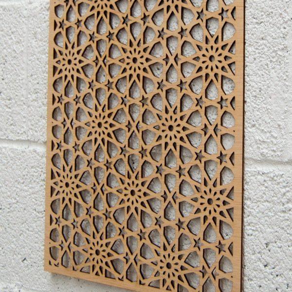 Wooden Lattice - Meknesi Design - 60 x 30 cm