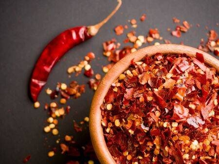Crushed Spicy Cayenne Pepper - Oriental Spices - 90gr.