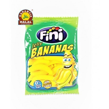 Bananas - Halal Sweets - Gluten Free and 0% Fat - Fini - 100 gr