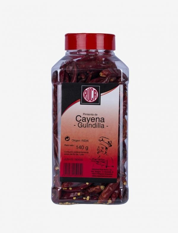 Cayenne / Whole Chilli - Great Quality - Ruca - 140gr