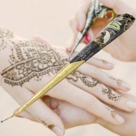 Henna Cone Reddish Tattoo - Maximum Detail - ARWA - Intense Color