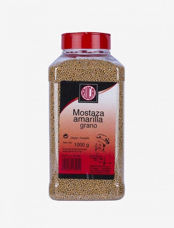 Yellow Mustard in Grain - Oriental Spice Selection - Ruca - 1Kg