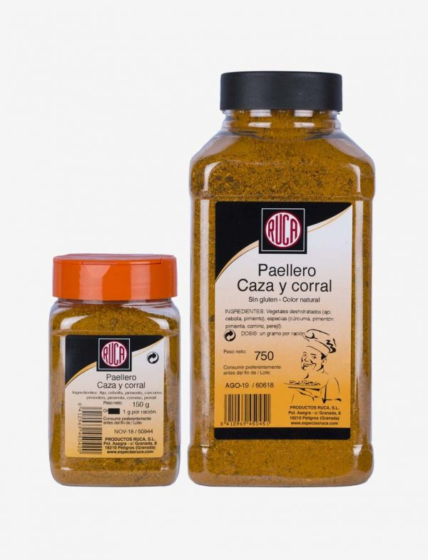 Paella Spice Dressing Game and Corral - Eastern Spice Selection - Ruca