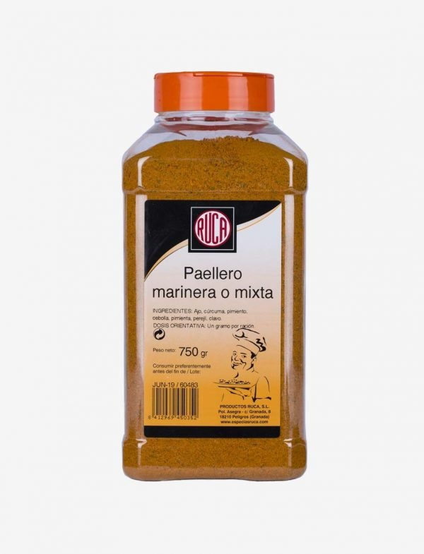 Mixed or Marinera Paella Spice Dressing - Eastern Spice Selection - Ruca