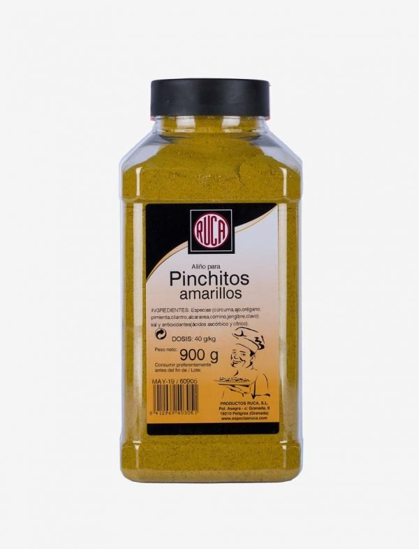 Yellow Moruno Pinchito Spice Dressing - Oriental Spice Selection - Ruca - 900gr