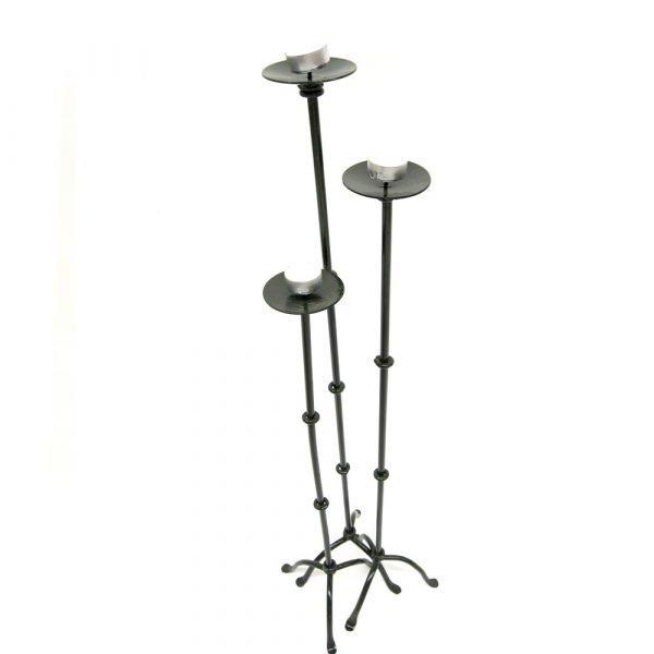 Set 3 Candlesticks in 3 Sizes - Khadra Model
