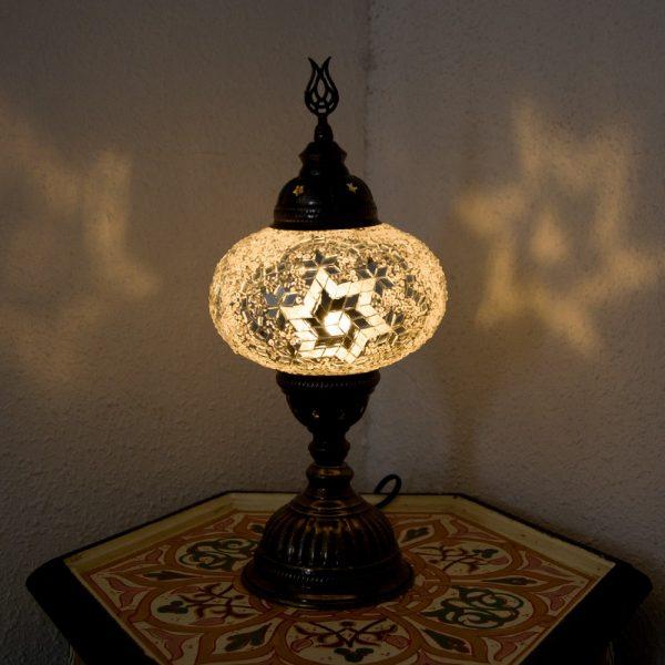 Turkish Table Lamp - Bedside Table - Turkish Abaid Model - Nº3