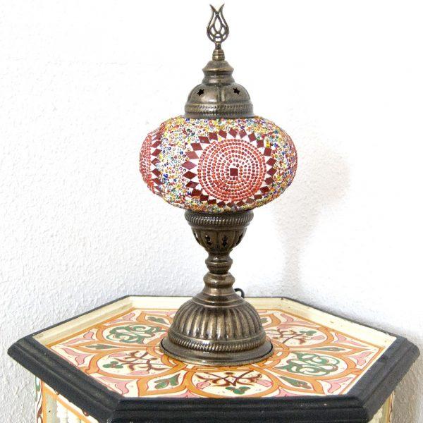 Turkish Table Lamp - Bedside Table - Turkish Alwan Model - Nº3