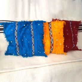 Berber Cushion Cover - Cotton and Wool - Handmade - 56cm - Berber Waahid Model