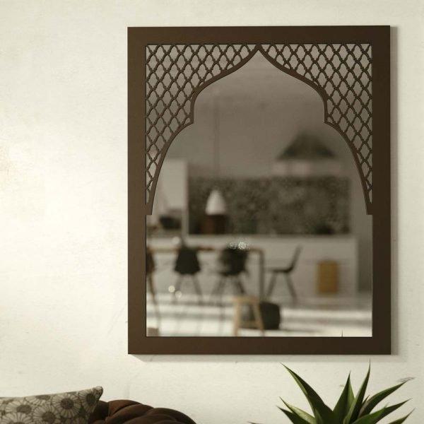 Arabic Mirror - Laser Cut - Bab Jaima Model - 100 x 80 cm