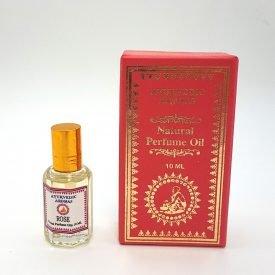 Natural Perfume - Rose - 0% Alcohol - Ayurvedic Aromas - 10 ml