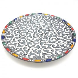 Trinchero Flat Plate - Pizzas - 26cm - Ceramica Blanca Fes